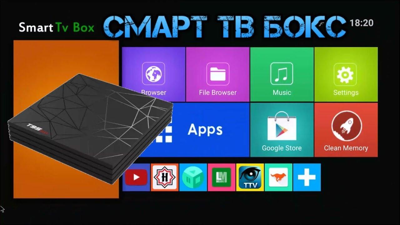 Новинка 2019! Обзор Смарт ТВ приставки T95 Max Allwinner H6 4GB/32GB 4K  Android TV Box