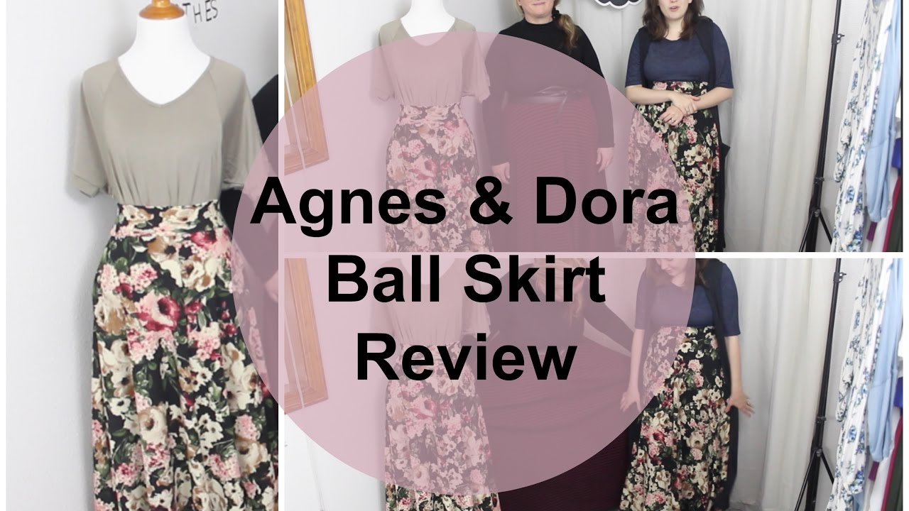 Agnes Dora Ball Skirt Review Youtube