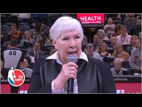 Jazz owner Gail Miller addresses crowd following Russell Westbrook incident | NBA on ESPN thumbnail