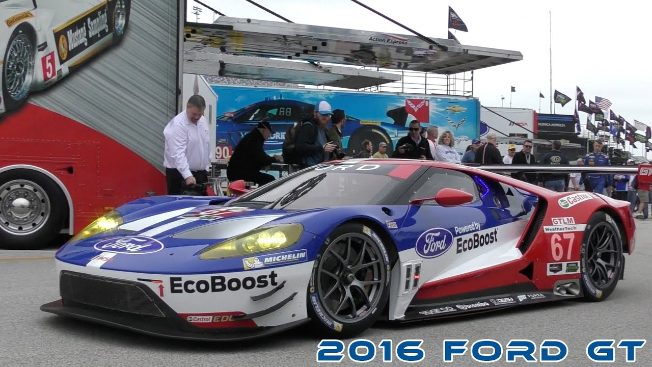 Ford Gt Roar Before The  At Daytona