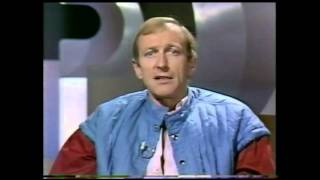 "Monty Python's Graham Chapman reviews ""Britannia Hospital"" then squawks"