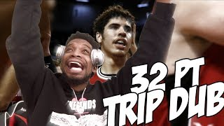 LAMELO BALL 32 POINT TRIPLE DOUBLE OVERTIME THRILLER!