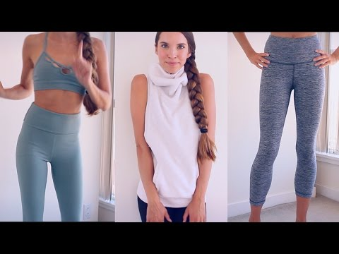YOGA/WORKOUT CLOTHING HAUL! TRY ON!