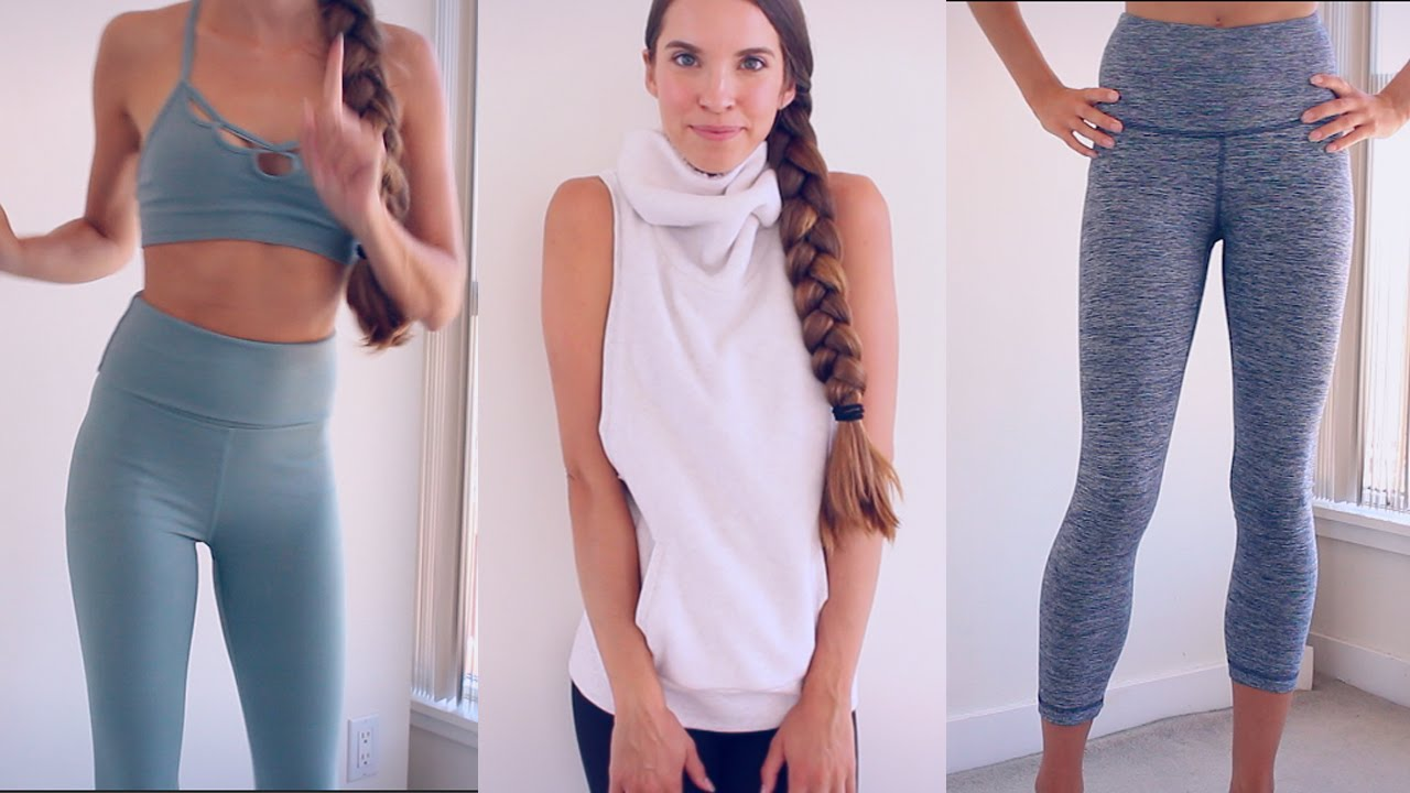 90fb9c877d YOGA/WORKOUT CLOTHING HAUL! TRY ON! - YouTube