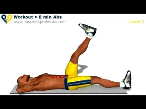 Abs workout how to have six pack – Level 3