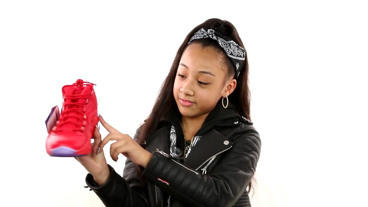 Teyana Taylor Reebok Question Mid Sneaker Unboxing by Jayla Marie