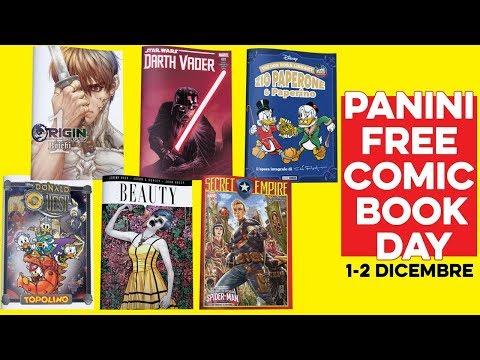 Tanti albi Gratis per Panini al Free Comic Book Day!