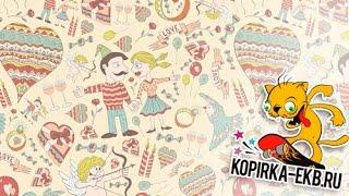 Бесшовный паттерн в Illustrator - 2 способа | Видеоуроки kopirka-ekb.ru