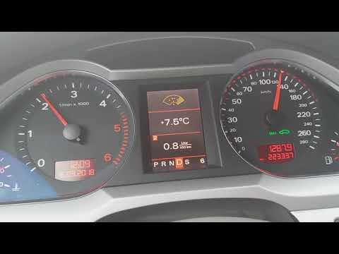 Расход топливо Audi A6 C6