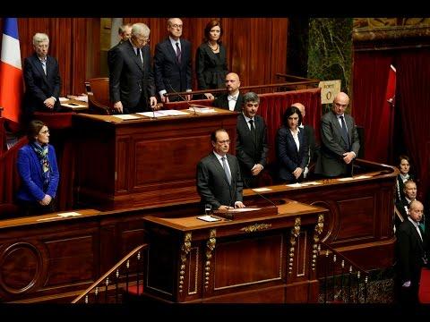 François Hollande addresses congress after Paris attacks - LIVE