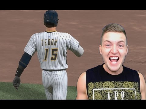 HITTING FOR THE CYCLE??? TIM TEBOW MLB THE SHOW 17 ROAD TO THE SHOW (RTTS #11)