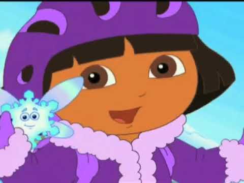 Dora the explorer dora saves the snow princess promo 2008 youtube - Princesse dora ...