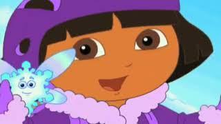 Dora The Explorer Dora saves the snow princess promo 2008