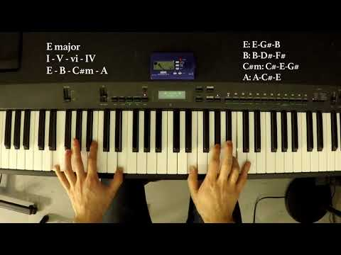 Play A Gazillion Pop Songs On Piano With These 4 Chords E Major