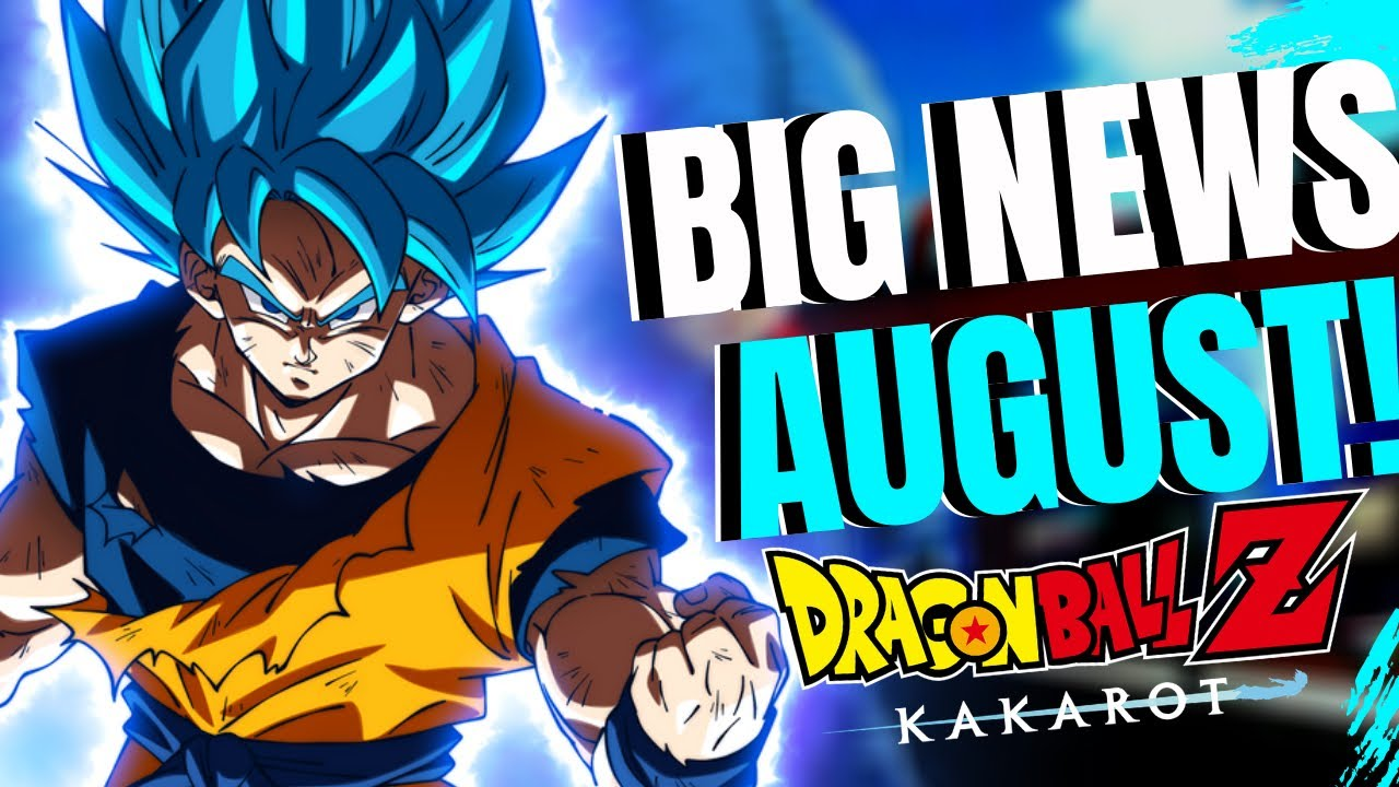 Dragon Ball Z KAKAROT BIG News Update - New V-Jump Scan Next Week, FighterZ DLC Trailer Coming Soon!