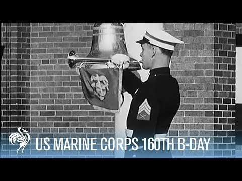 The United State Marine Corps - 160th Birthday