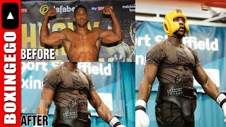 ANTHONY JOSHUA SECRET WEIGHT-CUT TO GIVE JOSEPH PARKER EVERY BIT OF HELL