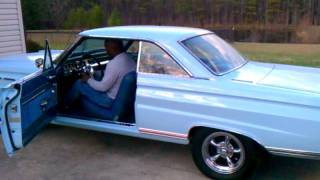 1965 Mercury Comet Cyclone start up