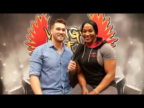 8 time Mrs Olympia Lenda Murray talks about female Bodybuilding, Diet, Cardio and Competition prep
