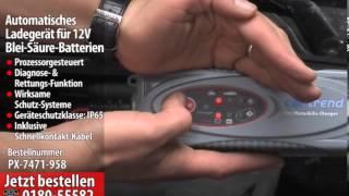 Cartrend Automatisches Batterieladegerät 12V, 3,8 A