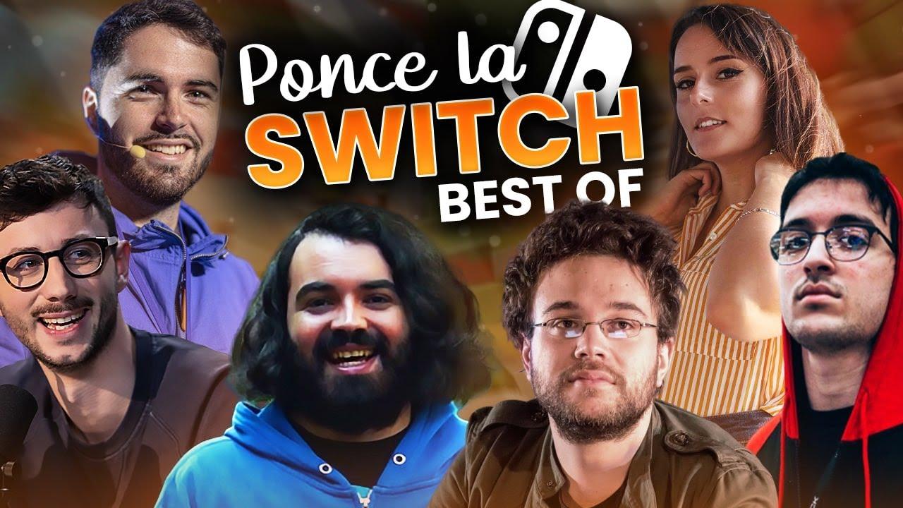 BEST OF PONCE LA SWITCH sur MARIOKART avec @MrAntoineDaniel  @MisterJDay @Etoiles & cie.