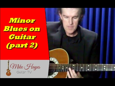 best way to learn guitar how to play the minor blues progression on guitar part 2 youtube. Black Bedroom Furniture Sets. Home Design Ideas