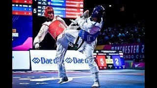 Taekwondo Highlights   2019 WT Championships Manchester