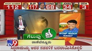 Gambar cover Karnataka Bypoll Result 2019: BJP Candidate Arun Kumar Win In Ranebennur Bypolls