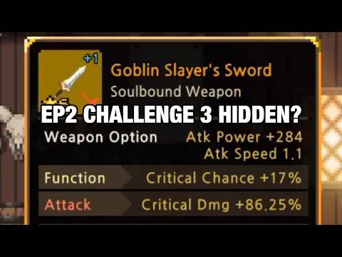 For Yuuki Hasekura - EP2 Challenge 3 Hidden? Does Goblin Slayer Really Need CD CD SBW?