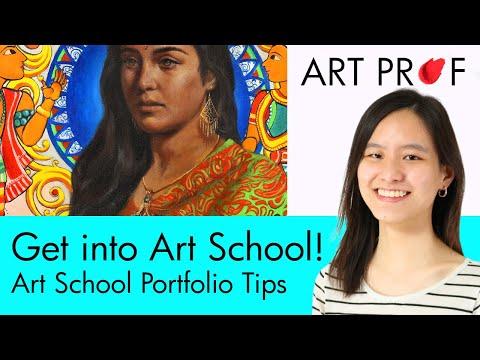 Art School Portfolio Tips