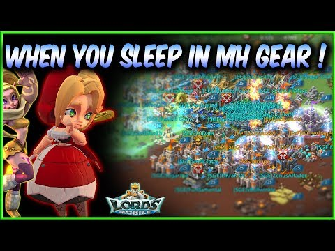 When You Sleep In Monster Hunting Gear - Lords Mobile