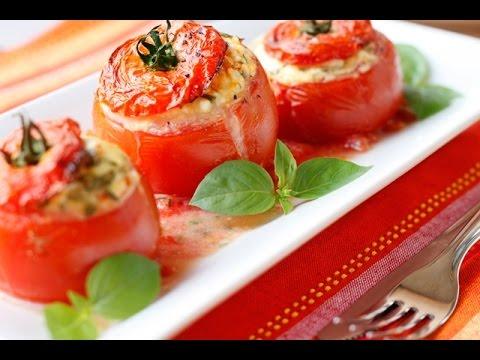 Pomodori ripieni,Ricetta Facile,Veloce e Sfiziosa
