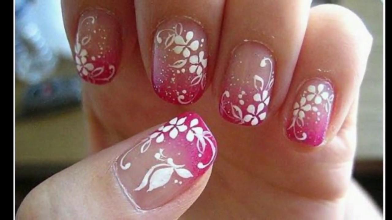 Pretty Acrylic Nail Designs For Teenage Girls Youtube