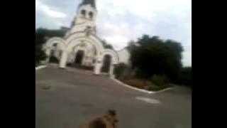 Невесёлая прогулка по утреннему Докучаевску 24.08.16(Утром, выгуливал собаку. Пустынность улиц навеяла грустные размышления. Достал телефон и стал снимать...., 2016-08-24T05:47:21.000Z)