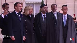 الملك محمد السادس يشارك في مئوية انتهاء الحرب العالمية الأولى