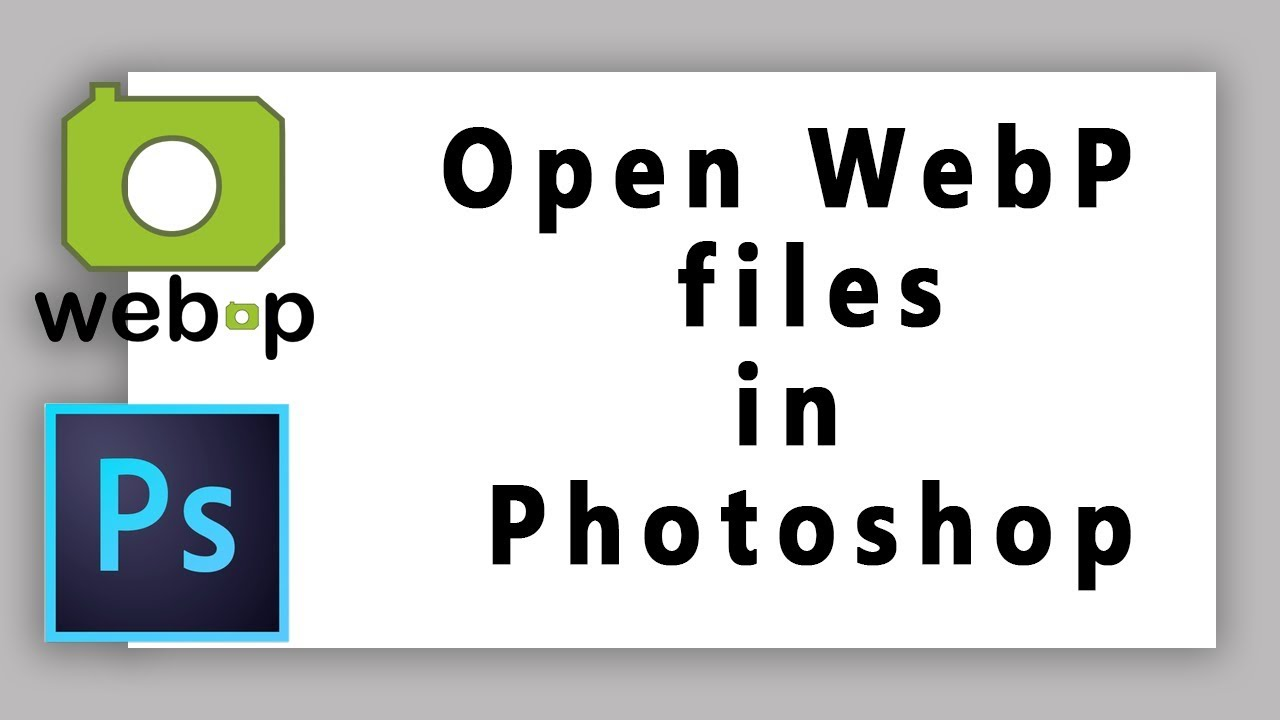 Webp Photoshop
