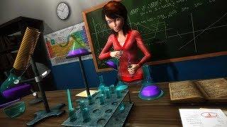 الظاهري مدرسة ثانوية المعلم محاكي بيتا - الروبوت GamePlay FHD screenshot 1