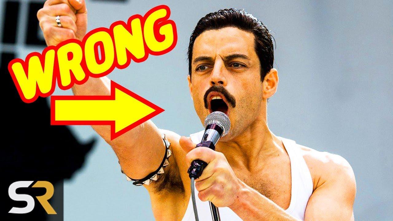 d1326c7191dd1 8 Things Bohemian Rhapsody Got Wrong About Freddie Mercury - YouTube
