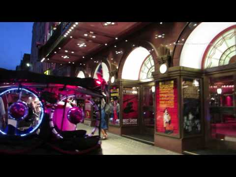Virtual  Walk around London's Red Light District Soho at night