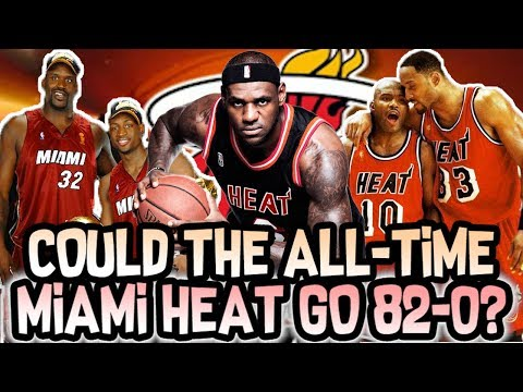 Could The All-Time Miami Heat Team go 82-0? NBA 2K18 Simulation