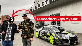 RANDOM FAN BUYS MY SUPERCAR IN CASH!?