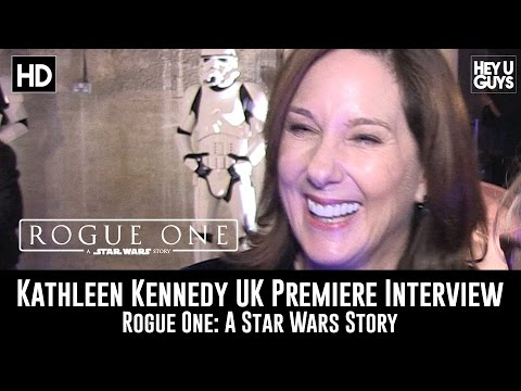 Producer Kathleen Kennedy UK Premiere Interview - Rogue One: A Star Wars Story