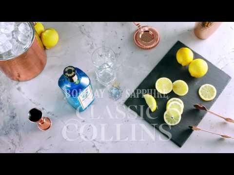 Bombay Sapphire Classic Collins