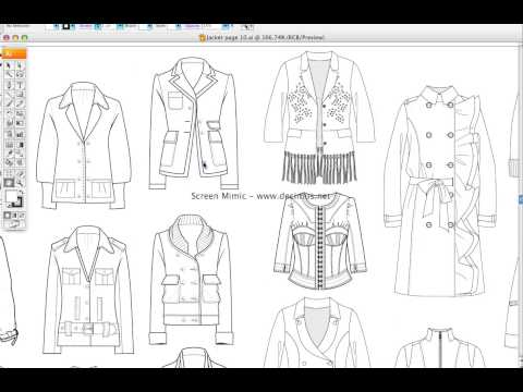 Fashion Templates Jacket