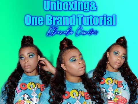 Unboxing&One Brand Tutorial|Kleancolor Cosmetics thumbnail