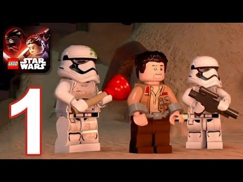 LEGO Star Wars: The Force Awakens - Gameplay Walkthrough Part 1 - Chapter 1 (iOS, Android)