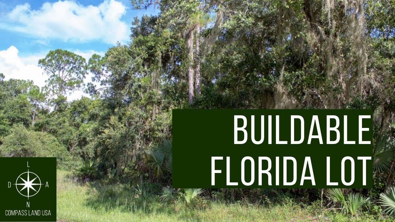 Sold by Compass Land USA - Quarter Acre Buildable Florida Lot - $199