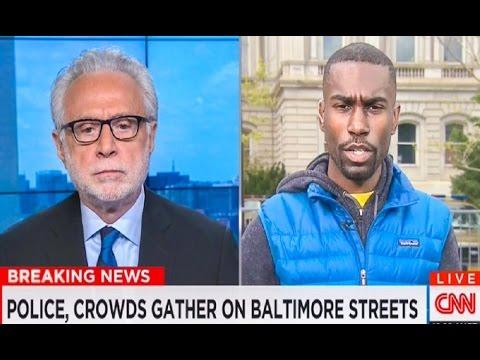 CNN's Wolf Blitzer On-Air Argument With Activist Deray McKesson