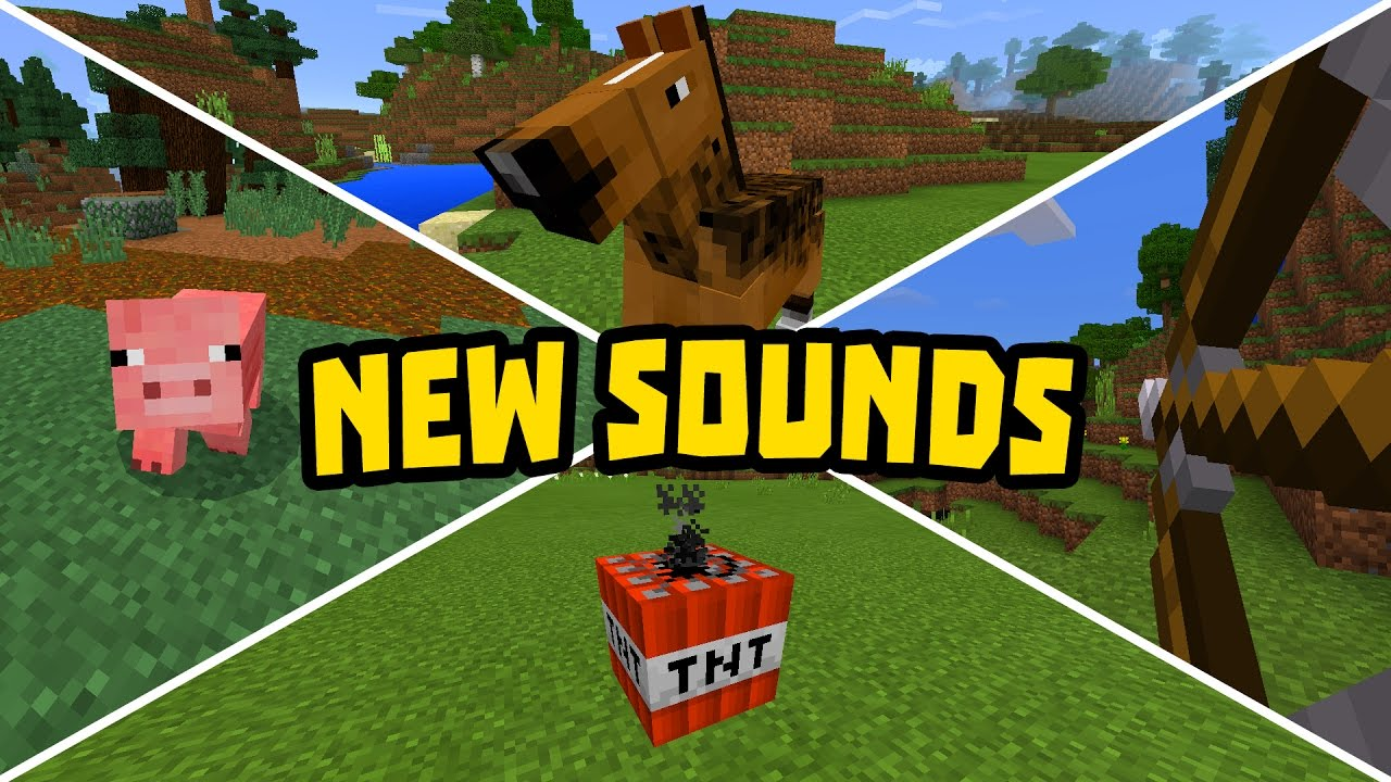 minecraft realistic sounds