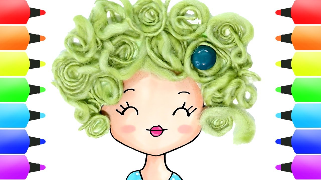Home Decor Ideas N. 2 | Decorate Your Home (Green Curly Hair) | Stylish & Cute DIY